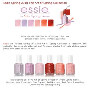 Essie Spring Line